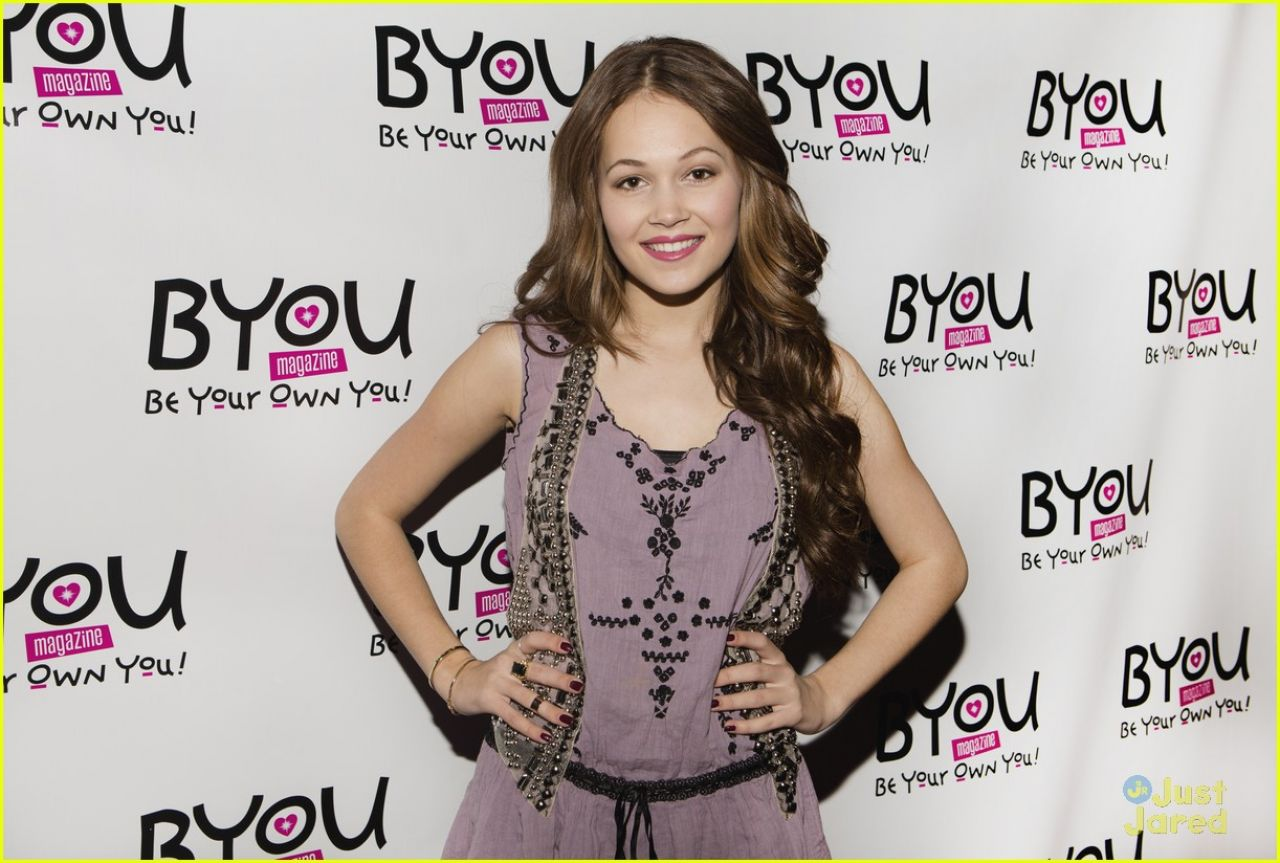 Kelli Berglund Attends BYOU Magazine's Girltopia in Los Angeles