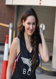Kelly Brook Gym Body - Los Angeles - November 2013