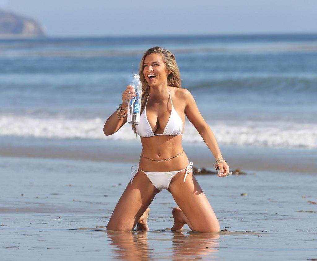 Keyara In A White Bikini Photoshoot For 138 Water Part Ii