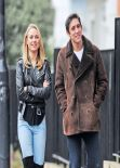 Kimberley Garner Street Style - in Jeans out in London - November 2013