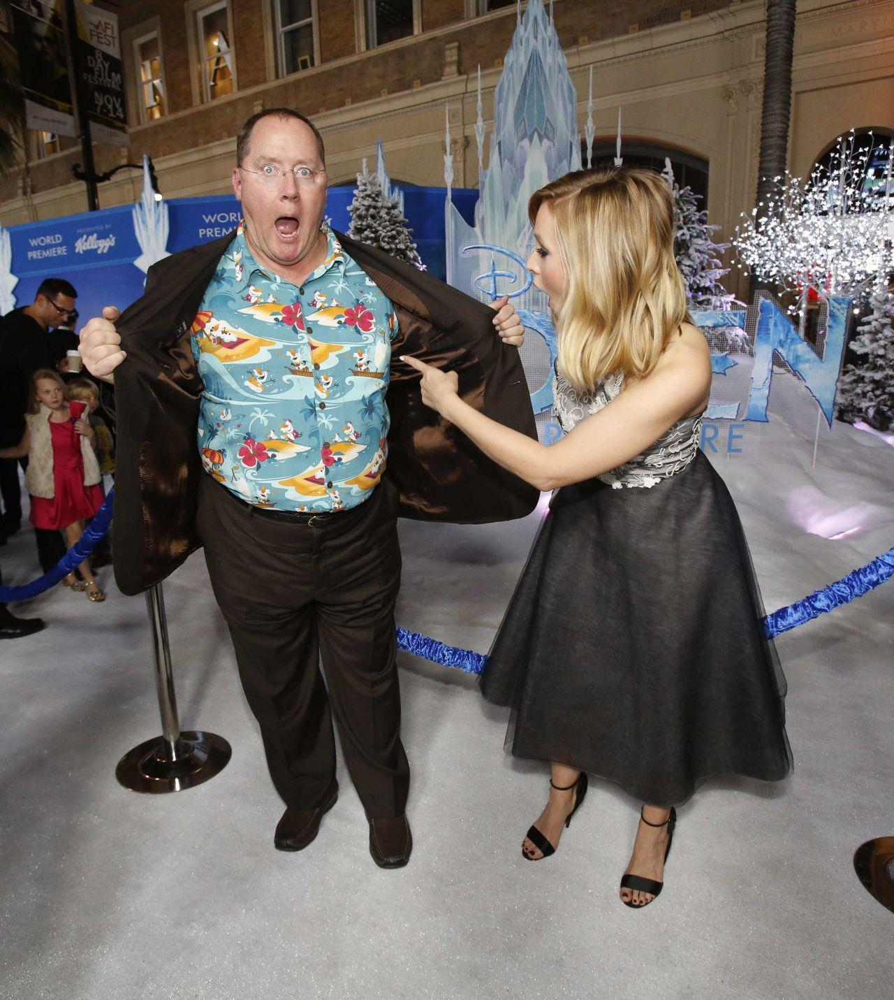Kristen Bell At Frozen Movie Premiere In Los Angeles