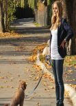 Kristin Cavallari Srteet Style - Stroll in Chicago - November 2013