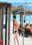 Krysten Ritter in a Bikini - Mexico - November 2013
