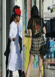 Kylie Jenner Street Style - Beverly Centre - November 2013