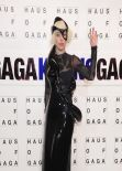 "Lady Gaga Amazing Style - Presenting ""artRave"" in Brooklyn"
