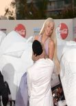"Lady Gaga Arrives on ""Horse"" to 2013 American Music Awards Red Carpet"