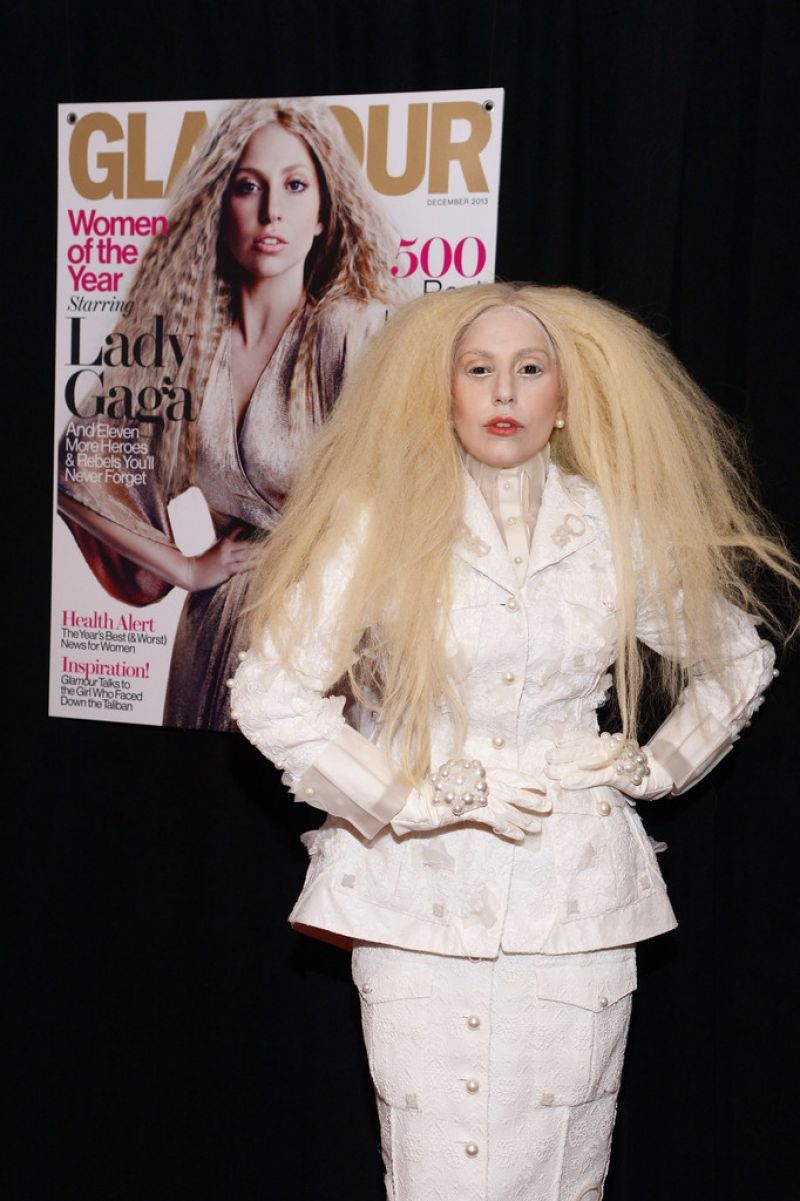 Lady Gaga Attends Glamour