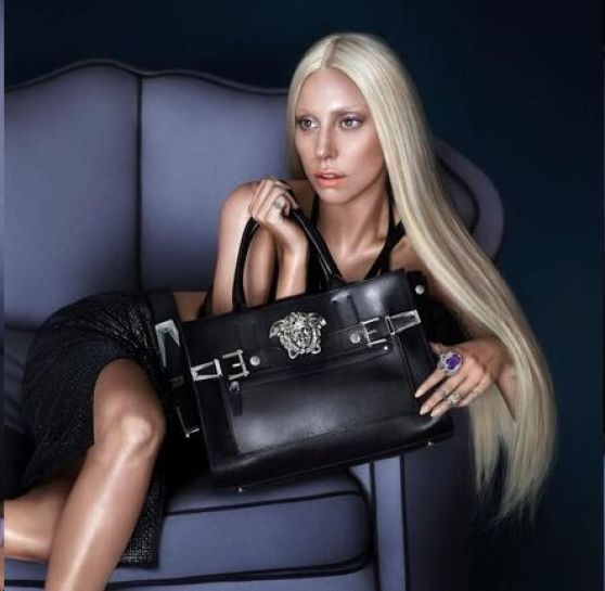 Lady Gaga Photoshoot for Versace Spring 2014