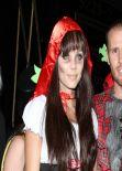 Laura Vandervoort at Halloween Party in Hollywood
