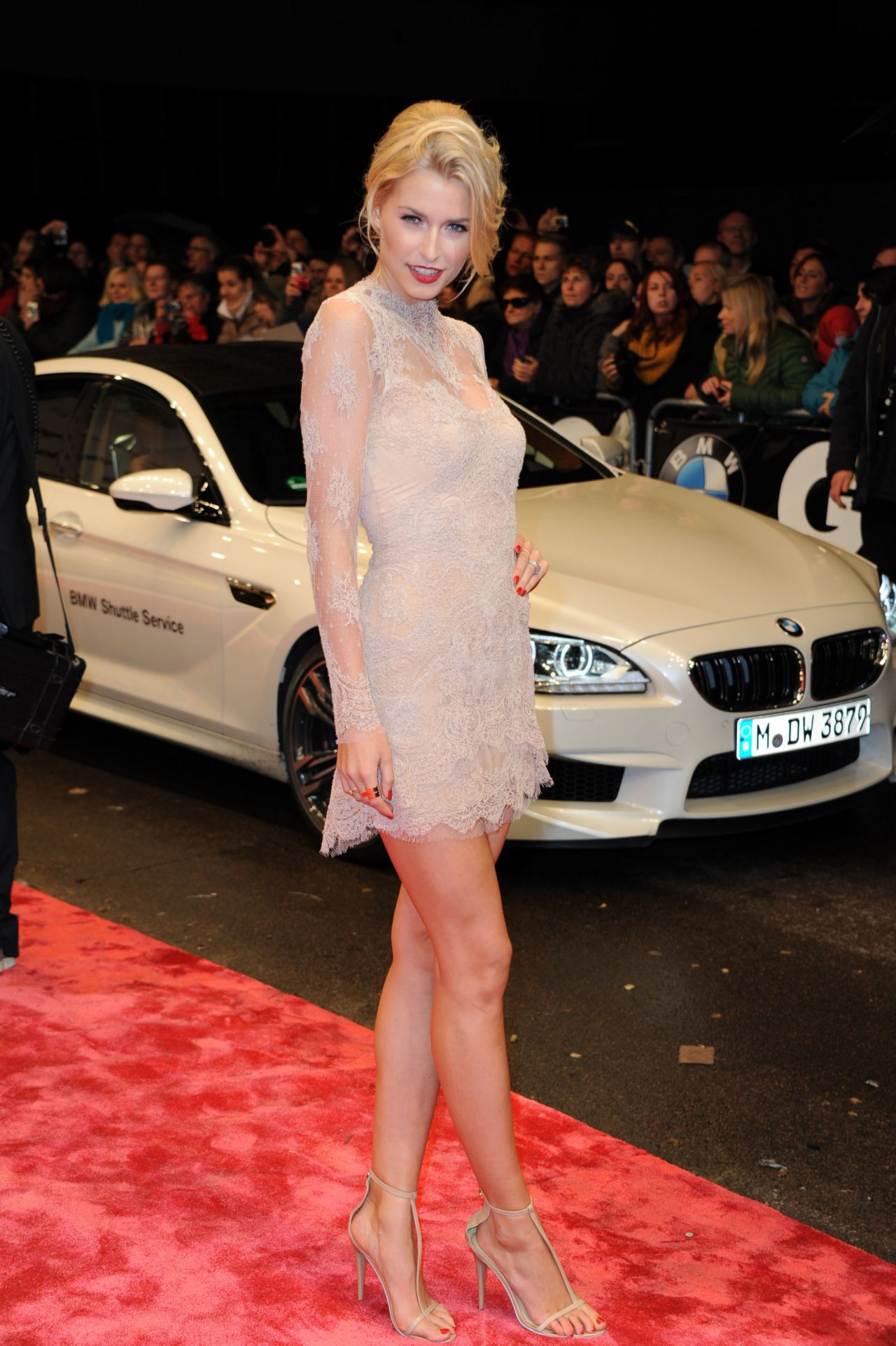 Lena Gercke Style Gq M 228 Nner Des Jahres Men Of The Year 2013