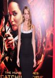 Lindsay Ellingson on Red Carpet – THE HUNGER GAMES: CATCHING FIRE Premiere in Los Angeles