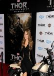 Maria Menounos at Marvel