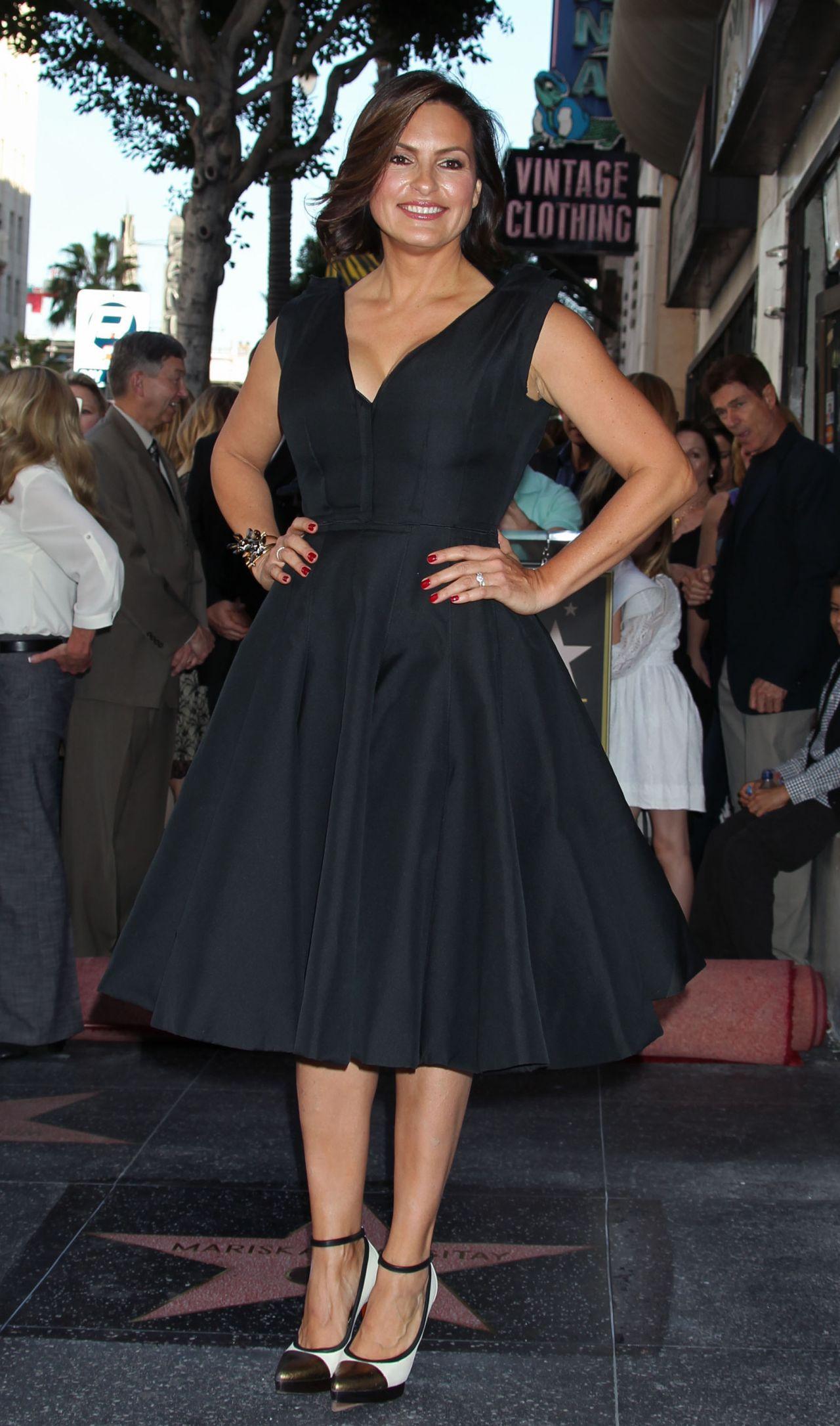 Mariska Hargitay Honored With A Star On The Hollywood Walk