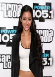 Melanie Iglesias at Power 105.1