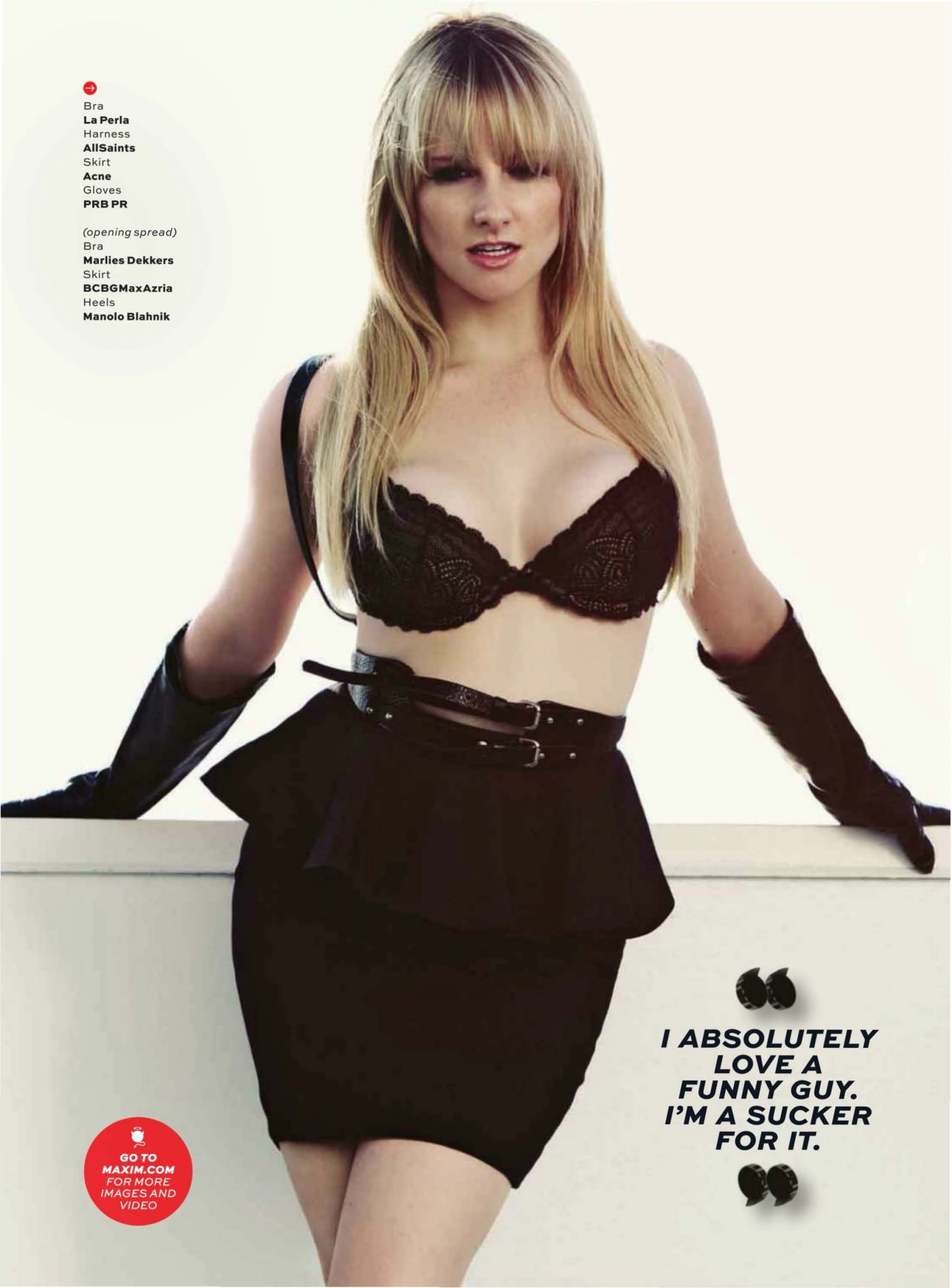 Melissa Rauch – MAXIM Magazine – December 2013 Issue