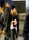 Mena Suvari Style - at LAX Airport - November 2013