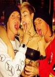 Miley Cyrus - 21st Birthday Party at Beacher