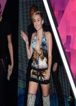 Miley Cyrus attends MTV EMA