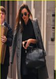 Miranda Kerr Street Style - Out in New York City - Fall 2013