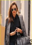 Miranda Kerr Street Style - Out in New York City - Fall 2013