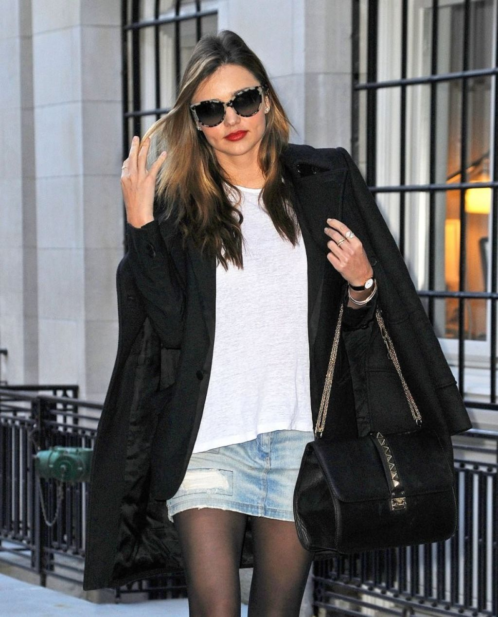 Miranda Kerr Street Style Out In New York City