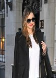 Miranda Kerr Street Style - Out in New York City