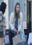 Mischa Barton Street Style - Out in West Hollywood