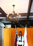 Naomi Campbell at Japanese Tea Ceremony in Sydney - November 2013