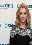 Natalie Dormer - SiriusXM Studios in New York City