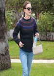 Natalie Portman Casual Style  - Out in West Hollywood - November 2013