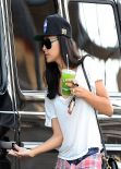 Naya Rivera Street Style - Out in Los Angeles