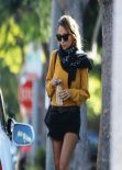 Nicole Richie Street Style - Out in Beverly Hills