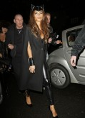 Nicole Scherzinger as Cat Woman - Jonathan Ross Halloween Party 2013