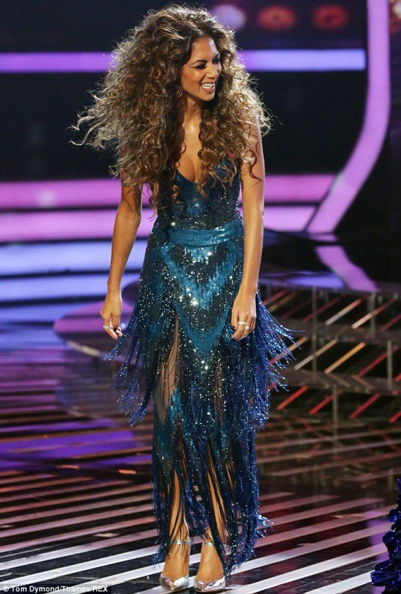 Nicole Scherzinger At Disco Week On The X Factor On