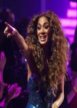 Nicole Scherzinger at Disco Week on The X Factor on Saturday Night