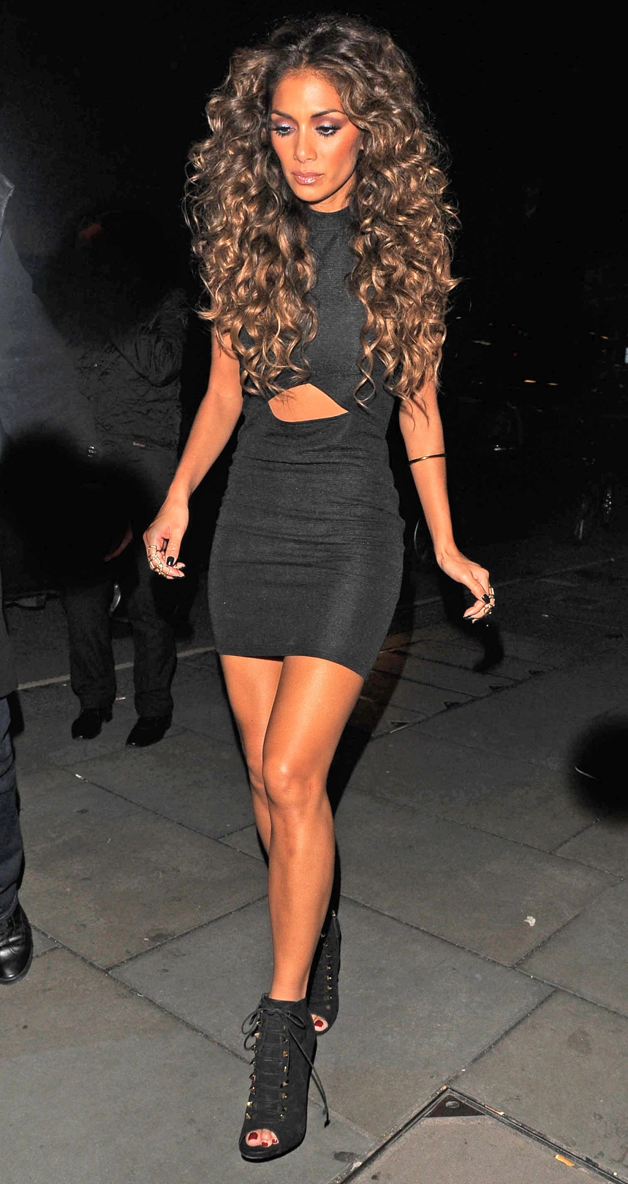 Nicole Scherzinger Night Out At The Cuckoo Club London