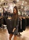 Nicole Scherzinger Style - at All Saints in London - November 2013