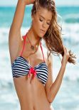 Nina Agdal Bikini Photoshoot - Leonisa Swimwear - Fall 2013