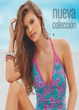 Nina Agdal Bikini Photoshoot - Leonisa Swimwear - Fall 2013