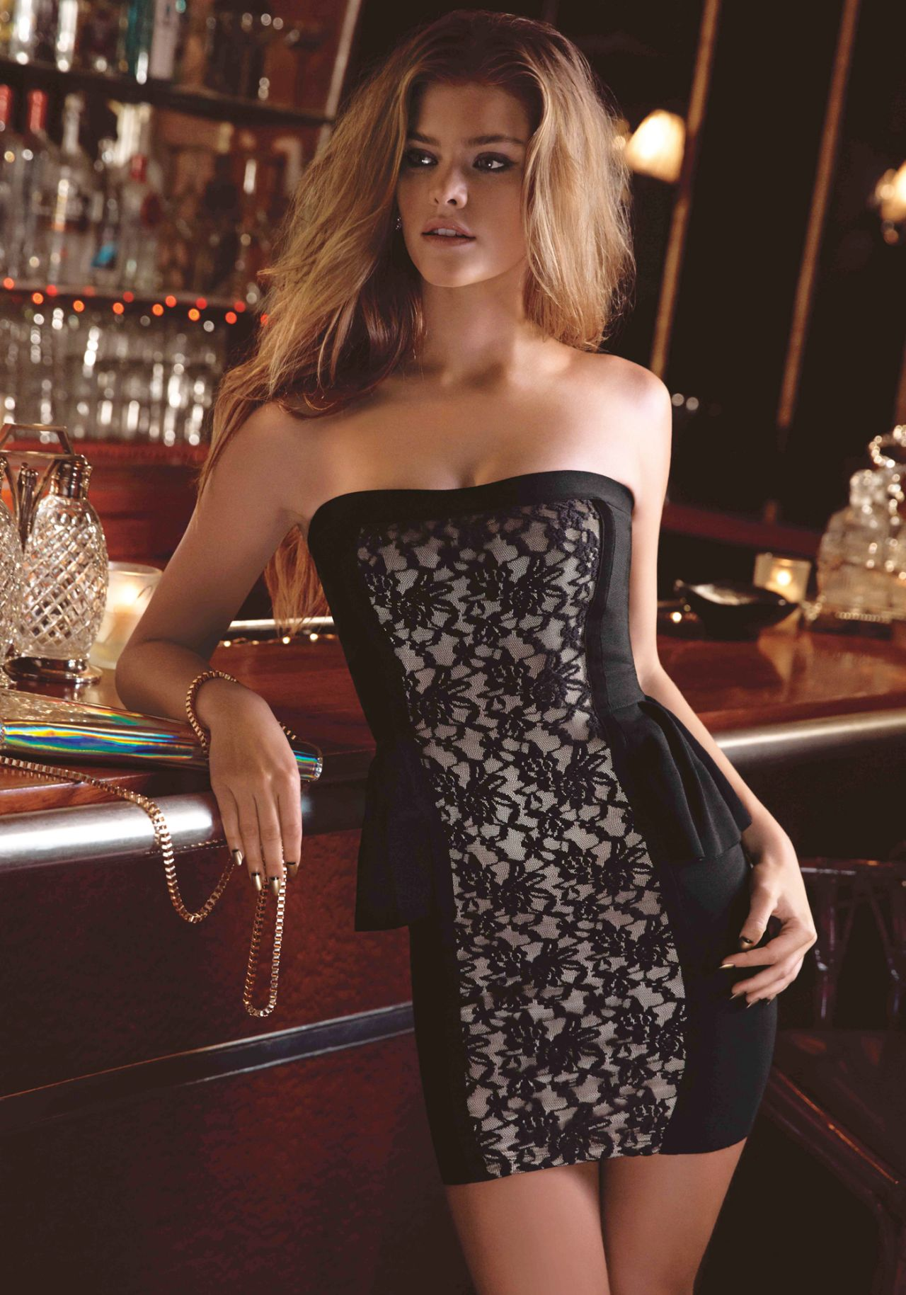 Nina Agdal Photoshoot - BEBE : Holiday - November 2013