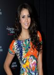 Nina Dobrev Attends The Vampire Diaries 100th Episode Celebration