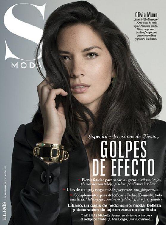 Olivia Munn - S MODA Magazine - November 2013