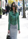 Olivia Munn Street Style - Out in New York City - November 2013