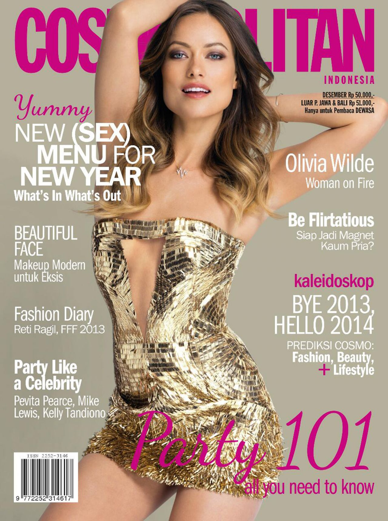 Olivia Wilde on the cover of PETRA Magazine (Germany) & COSMOPOLITAN Magazine (Indonesia)