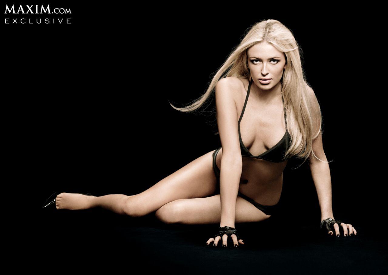 Paulina Gretzky Cover Girl Maxim Magazine December