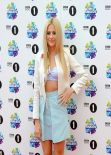 Pixie Lott on Red Carpet - BBC Radio 1 Teen Awards in London