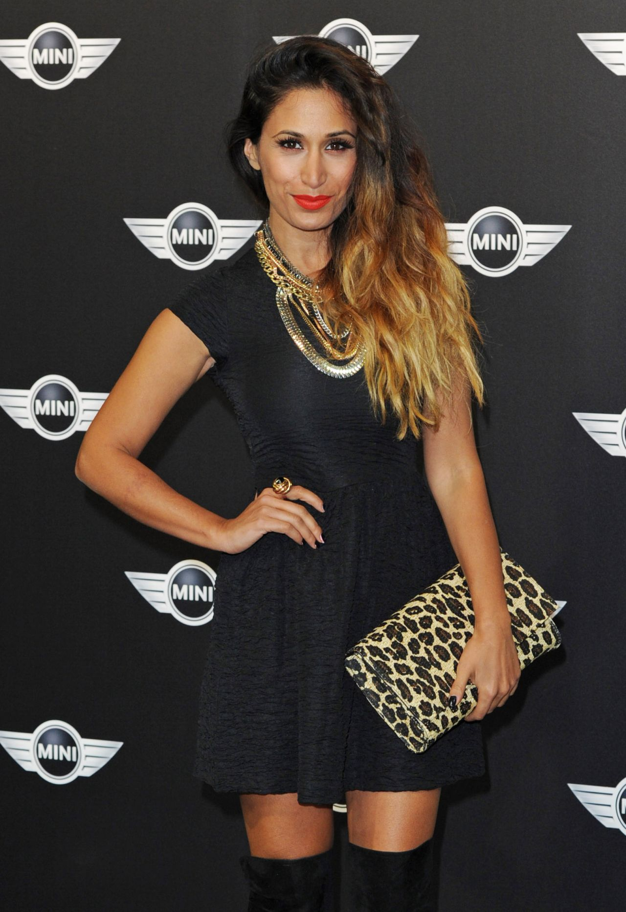 Preeya Kalidas Red Carpet Photos - The MINI Launch Party at The Old Sorting Office in London - November 2013
