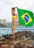 Raica Oliveira Bikini Photoshoot for Bluebeach Swimwear - November 2013