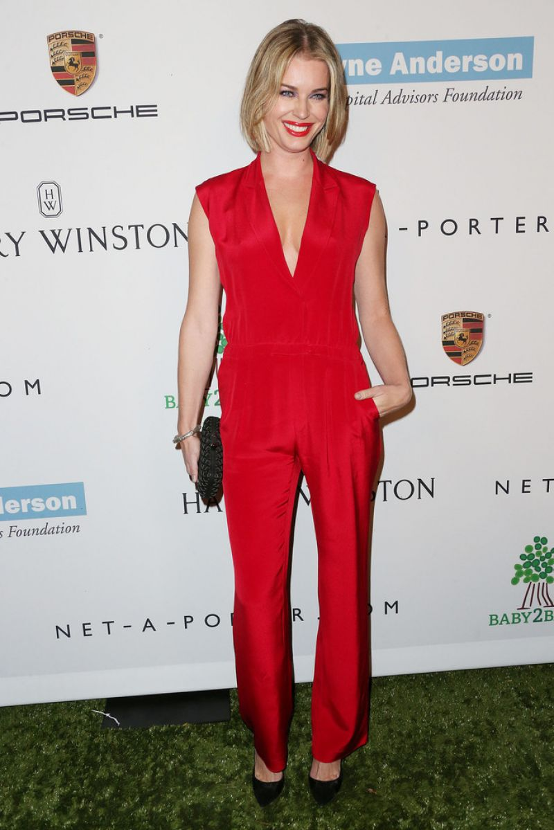 Rebecca Romijn on Red Carpet - 2nd Annual Baby2Baby Gala