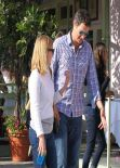Reese Witherspoon in a Jeans - at The Ivy in Santa Monica